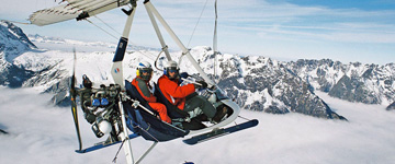 Baptême de l'air à l'Alpe d'Huez